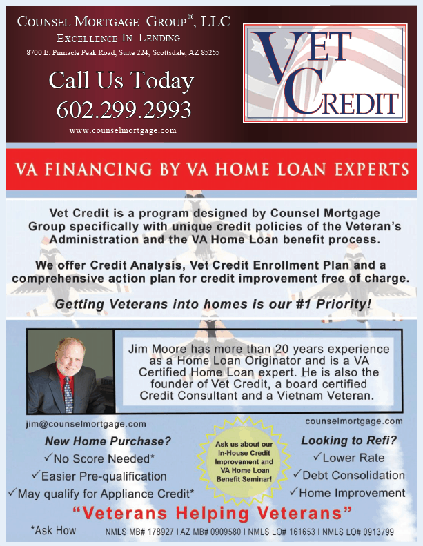 VA Home Loan, Veteran housing, VA Home Benefits, Credit counseling, credit repair, credit assistance
